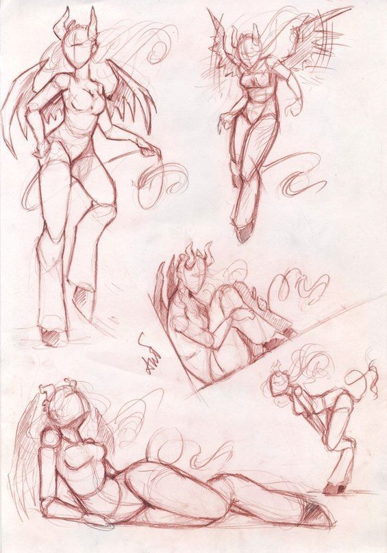 Female Action Poses (Canceled) by Masters Of Anatomy ...