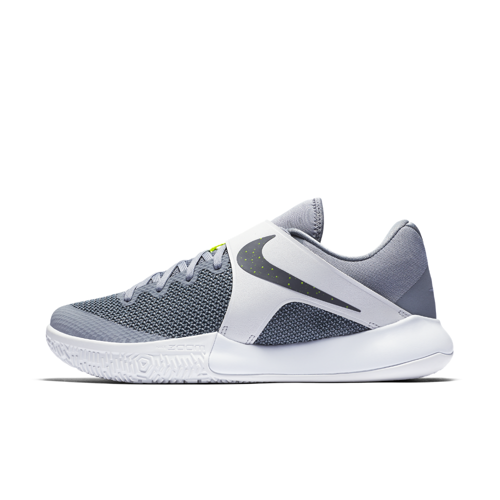 Nike Zoom Live 2017 Men's Basketball Shoe Size 12.5 (Grey)