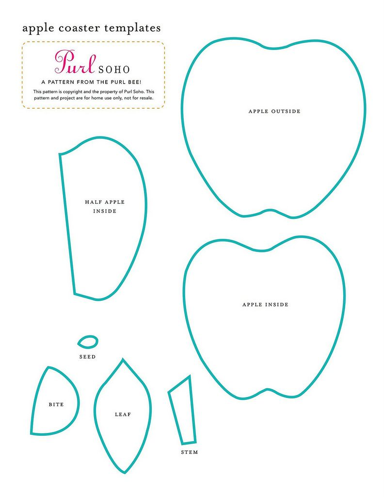 Porta copos em feltro (com moldes) | MOLDES | Pinterest | Filz ...