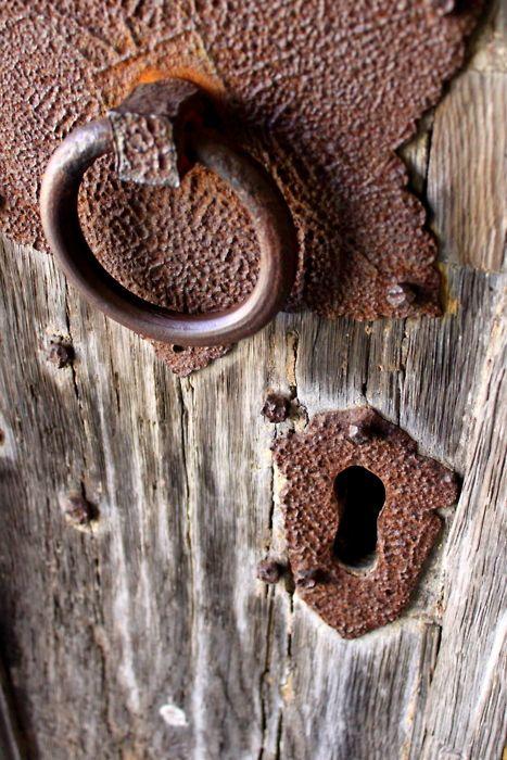 Épinglé par Bill Kendig sur rusty old metal Pinterest Portes - peinture porte et fenetre