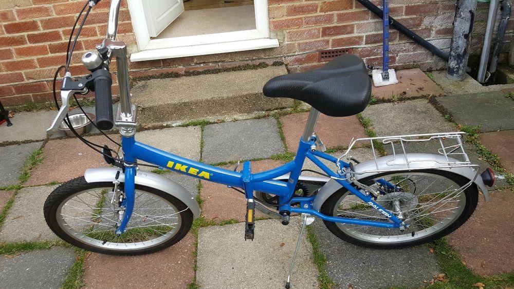 raleigh *rare* IKEA folding bike 6 speed 9,000 made
