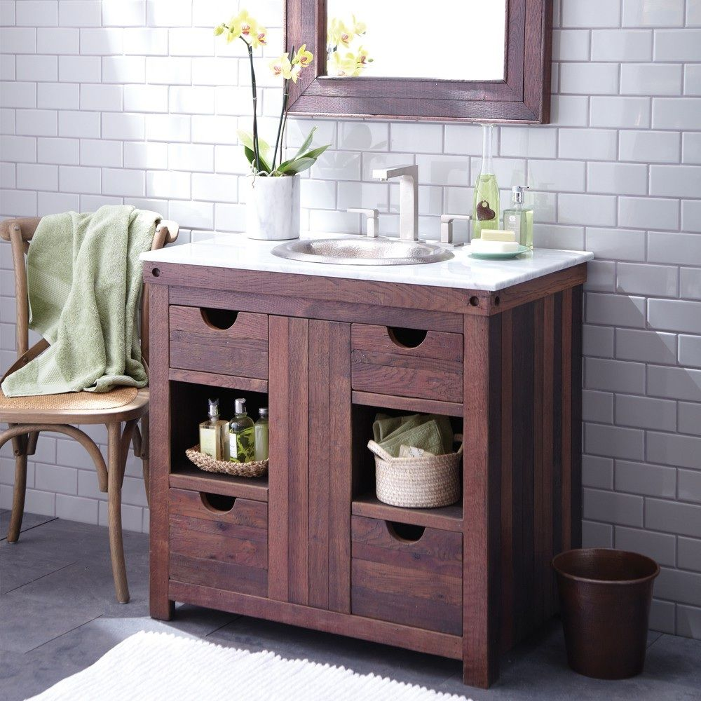 Invest in beautiful solid wood vanities & bathroom ...