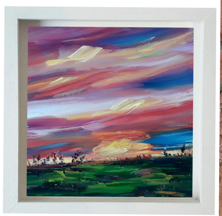 Niki Purcell Irish Landscape Painting Paintings For Sale Artfinder In 2020 Painting Skyscape Art Irish Landscape