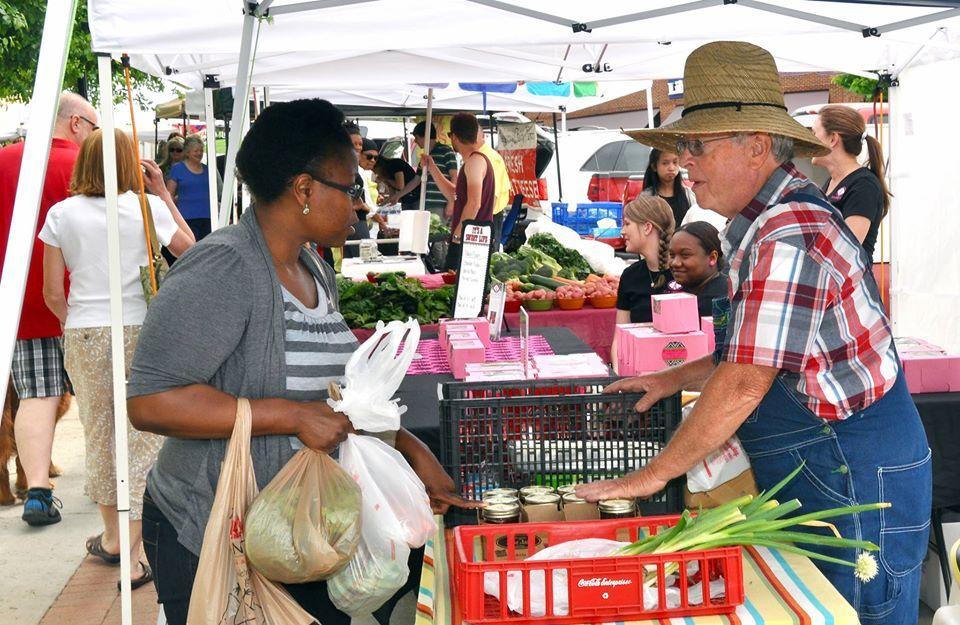 2nd Saturday is a market day Suwanee Farmers Market in