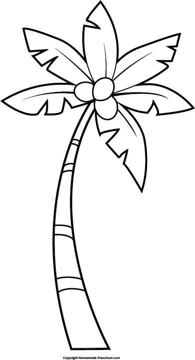 Free Monkey Clipart In 2020 Palm Tree Drawing Coconut Tree Drawing Palm Tree Clip Art