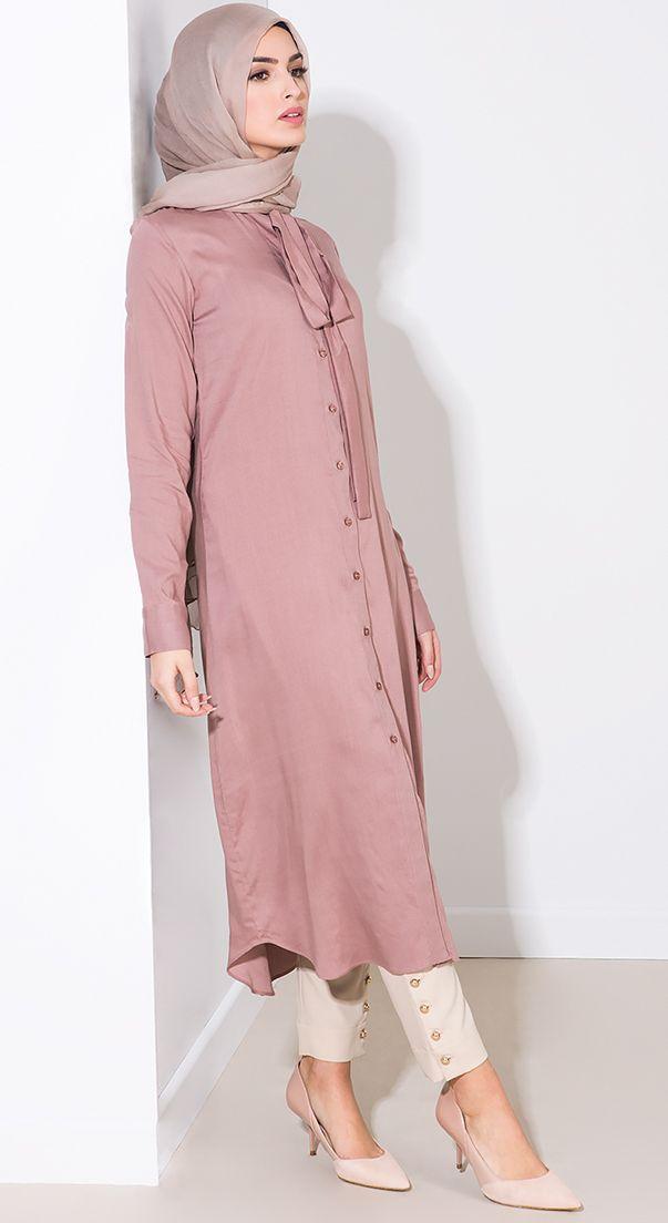 4ab79cd6ee31d Shirt Dresses | Muslimah Fashion & Hijab Style(Niqab) in 2019 ...