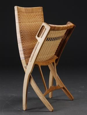 Hans J Wegner 1914 2007 Folding Chair Model Jh 512