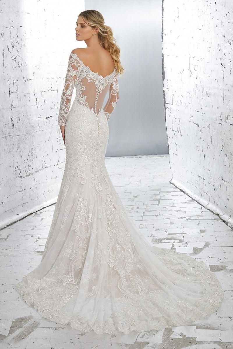 Numerous Of These Bride To Bes Are Lucky They May Search High And Low Braving Cold D In 2020 Best Wedding Dresses Long Sleeve Bridal Gown Fit And Flare Wedding Dress