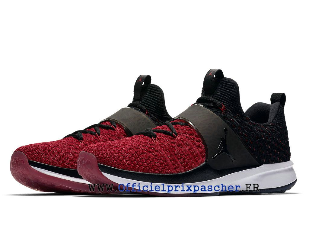 Chaussures Air Jordan Trainer 2 Flyknit Pas cher Homme Chicago ...