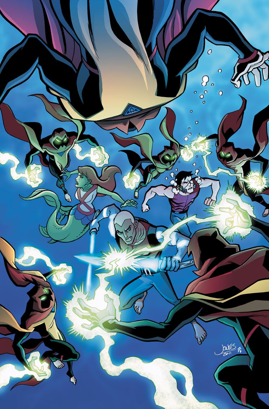 Character Designs Creating A Cover Young Justice 14 Young Justice Young Justice Comic Christopher Jones