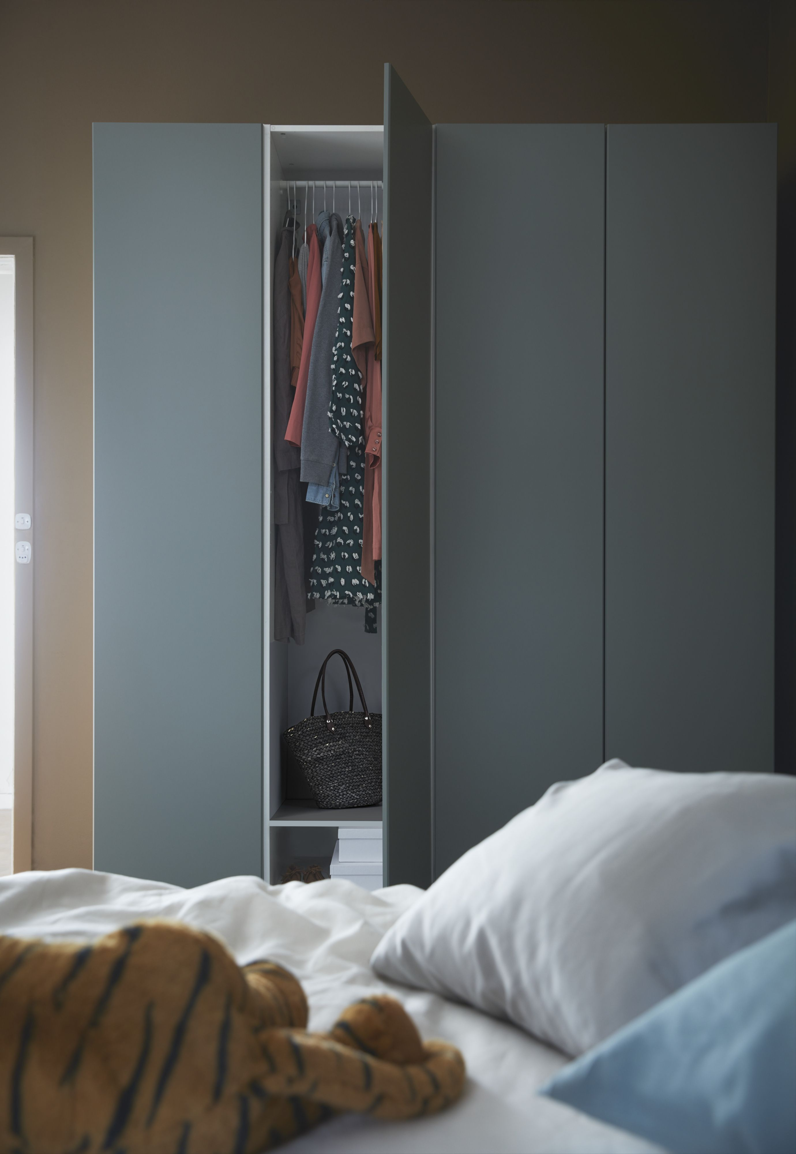 Ikea Wardrobe Leaning To One Side The Pax Reinsvoll Wardrobe Makes Organizing Your Style Easy
