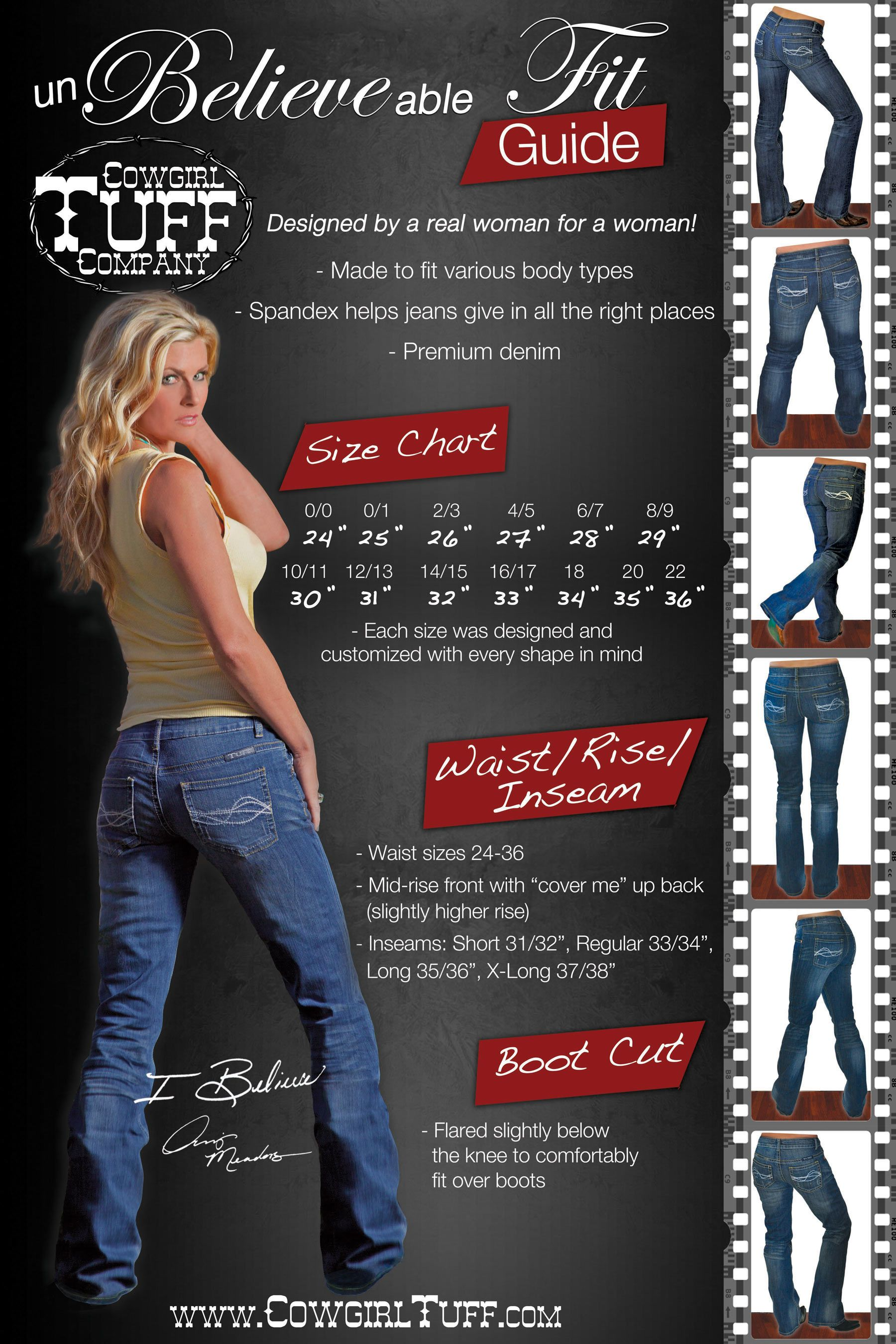 Pin On Cowgirl Tuff Jeans
