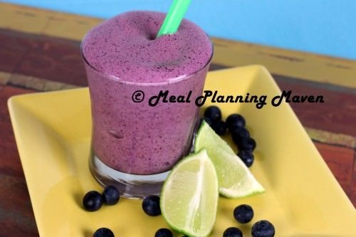 Blueberry Twist Smoothie