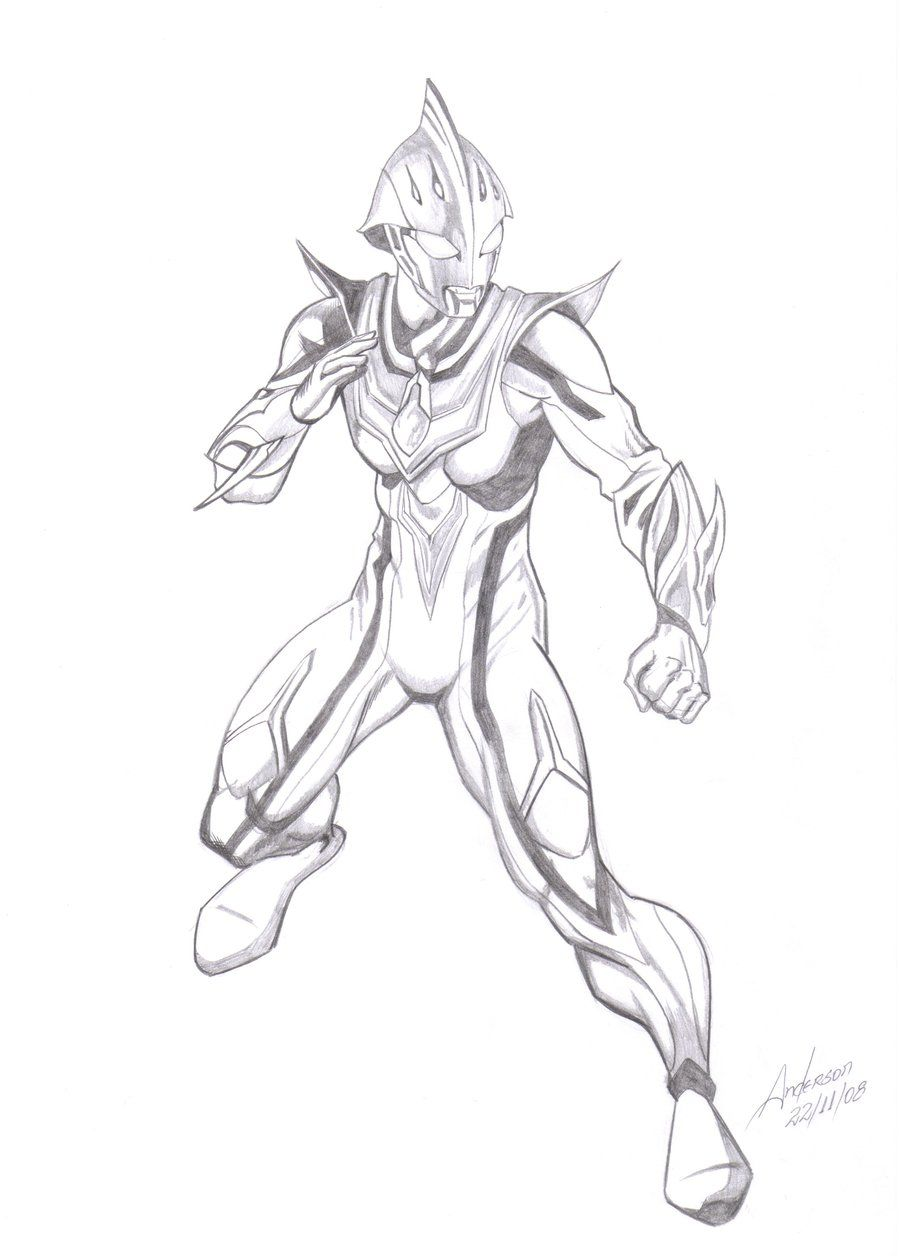 Ultraman Draw Print Wwwtopsimagescom