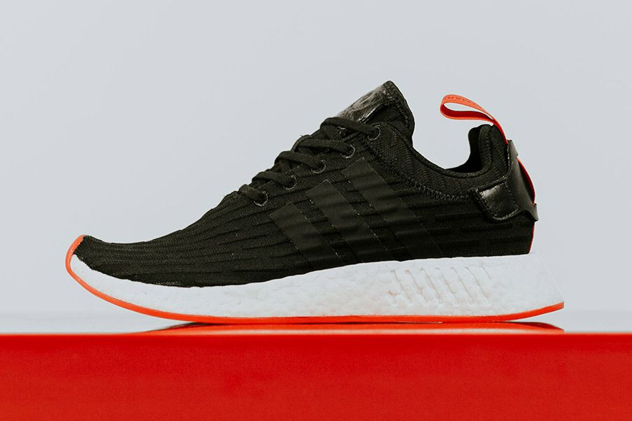 Adidas es la NMD R2 negro / CORE Rojo lanza la próxima semana NMD, Adidas NMD