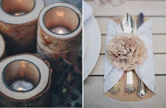 25 Diy Tisch Deko Hochzeit Holz Kerze Vintage Hochzeit Laendlich