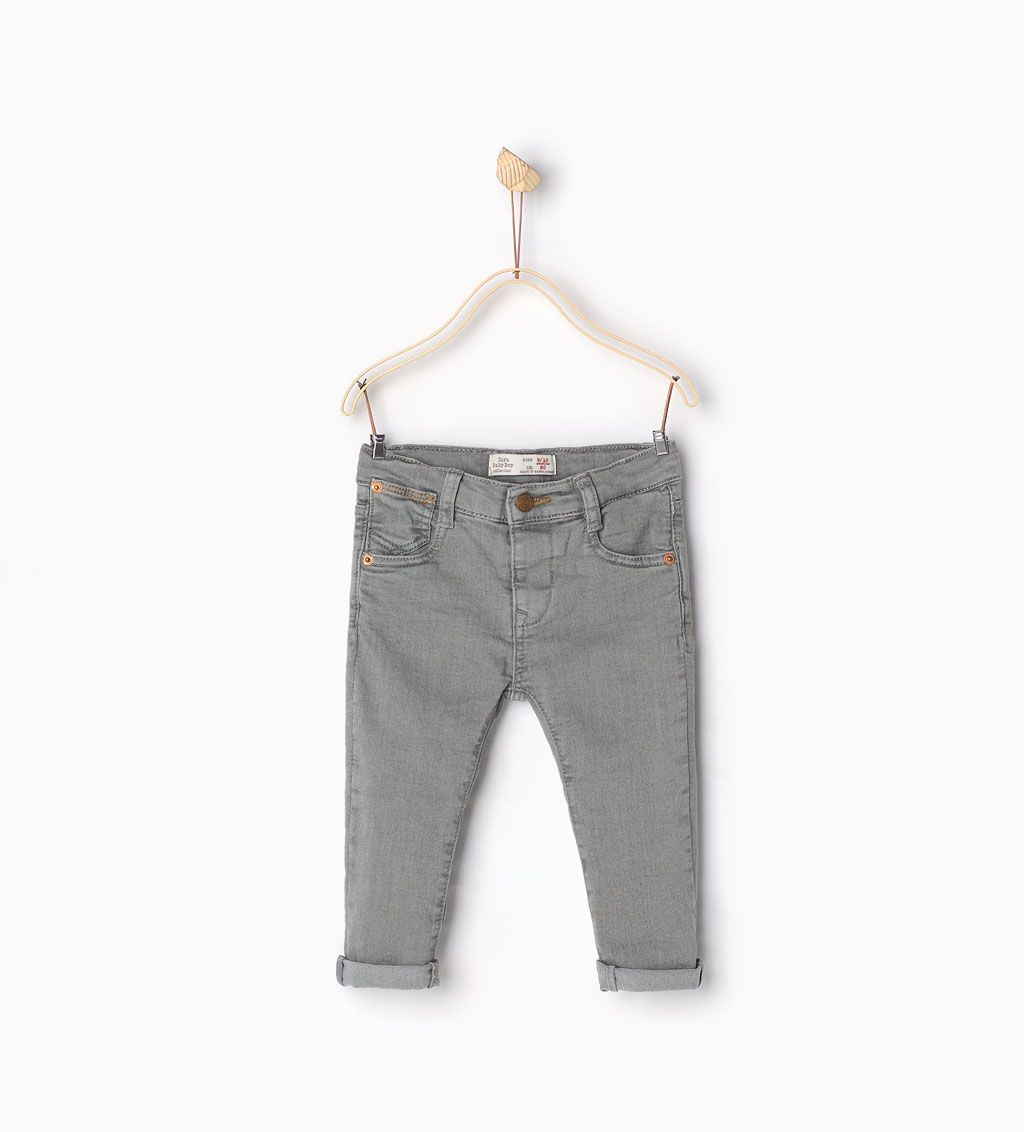 ZARA - COLLECTION SS16 - Five pocket jeans | MODELOS | Pinterest ...