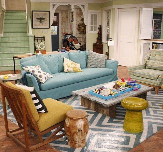 good luck charlie living room | ... Shares Which Piece Of The Good