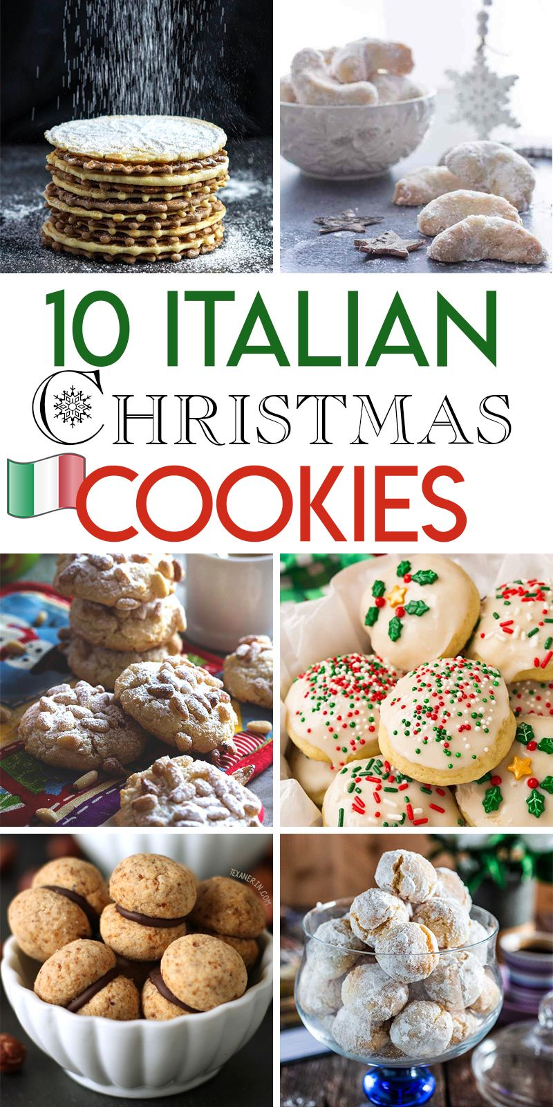 Christmas Cookie Recipes 2019.10 Italian Christmas Cookie Recipes Italian Cookie Recipes