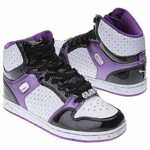 Pastry shoes purple and white. Swagg | Shoe Paradise ...