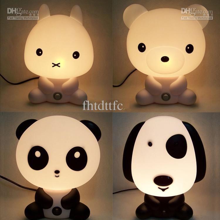 2018 Hot Sale Nursery Bedside Led Lamp Night Light Lamp Panda Baby Room  Sleeping Lamp + Color Box From Fhtdttfc, $39.43   Dhgate.Com