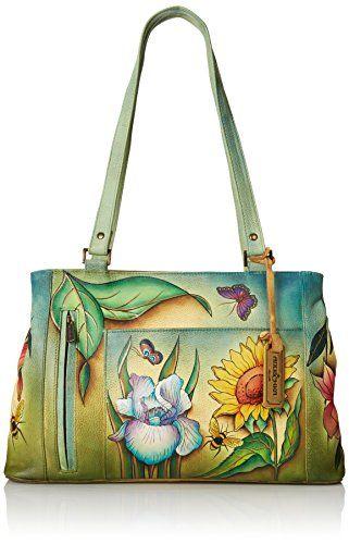Anuschka Large Double Entry Shopper Backpack