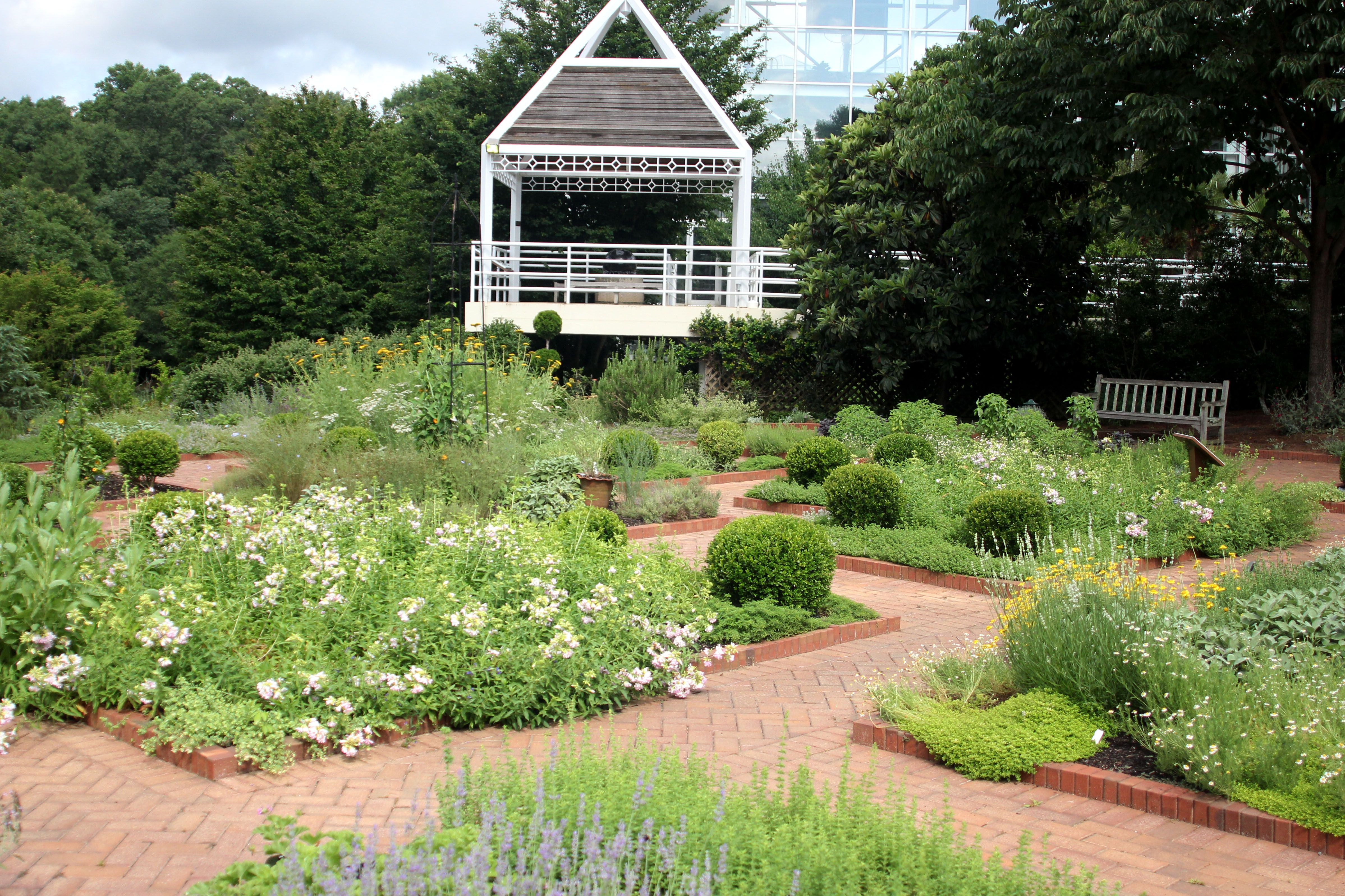 What do you think of this herb garden at the State Botanical Garden of Georgia? The horticulturists at Unique Enivronmental Landscapes understand how to use ornamentals and edibles to your best advantage. #atlantalandscaper