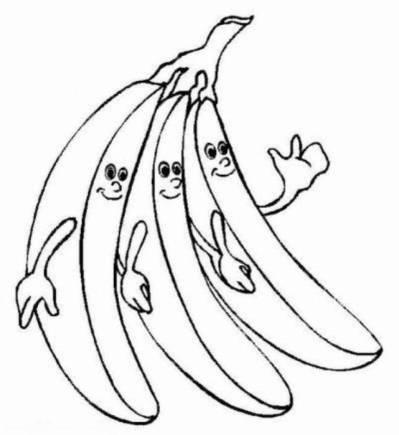 Ausmalbilder Fur Kinder Banane 13 Ausmalen Ausmalbilder Ausmalbilder Kinder