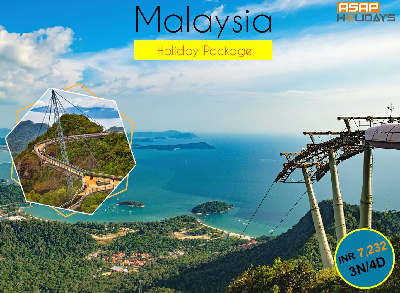 MalaysiaHolidayPackage 3N/4D just at INR 7,323 PP