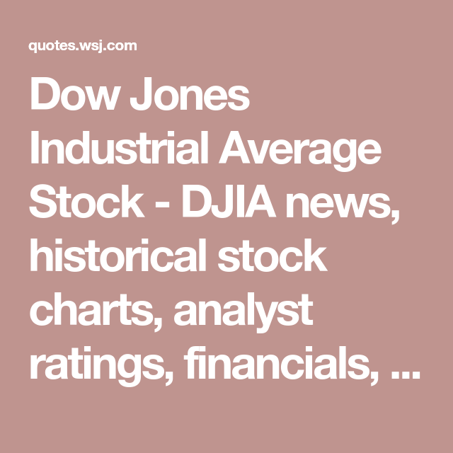 Historical Stock Quotes New Dow Jones Industrial Average Stock  Djia News Historical Stock . Decorating Inspiration