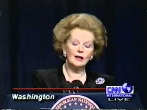 The Iron Lady, Margaret Thatcher, and Ronald Reagans 83rd Birthday