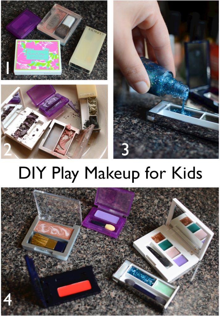 Diy Play Makeup For Toddlers Play Makeup Kids Makeup Kids Play Makeup