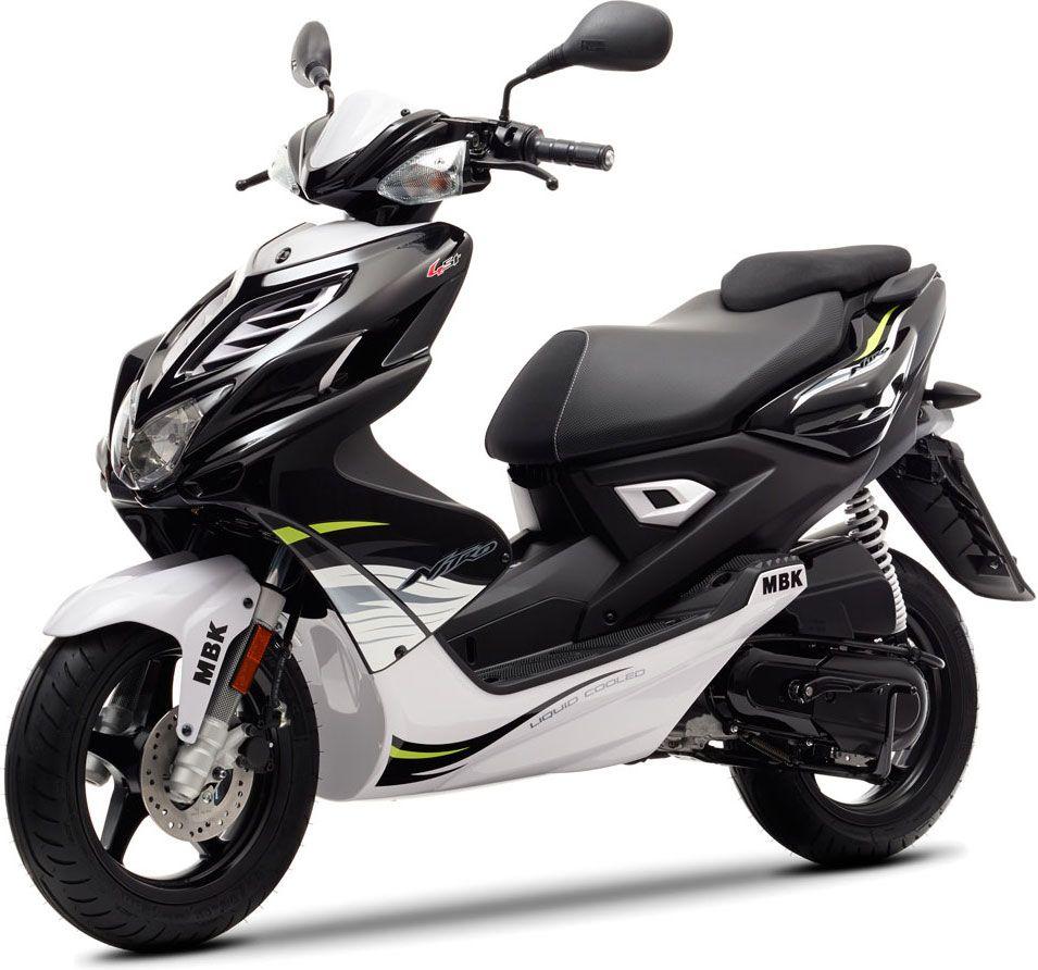 pour 2014 le nitro 4 vient compl ter la gamme scooter 50cm3 mbk [ 955 x 892 Pixel ]