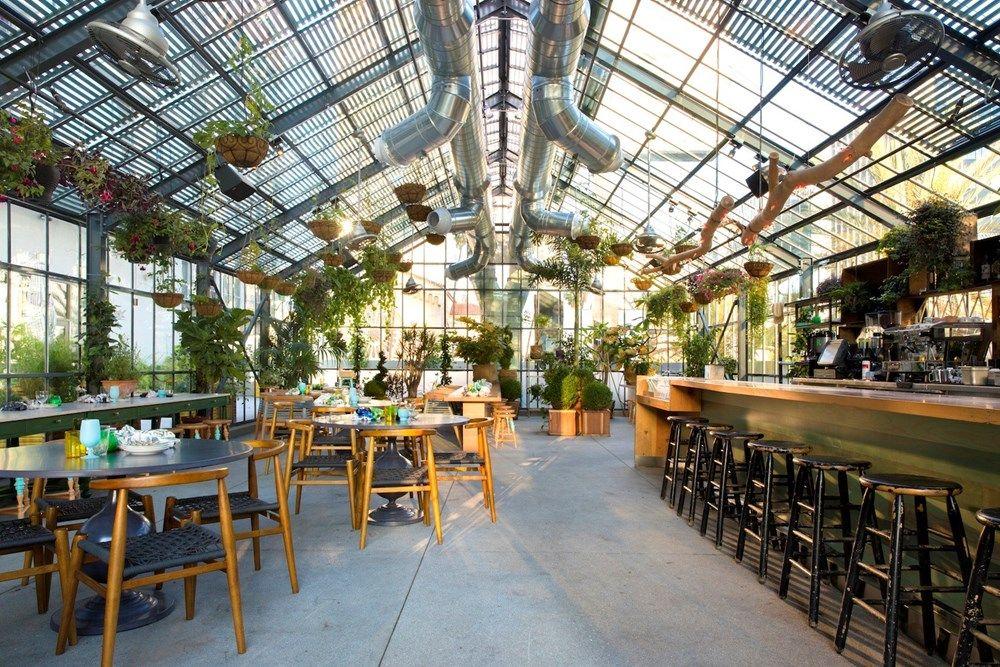 Three Brilliant Restaurant Gardens Gewächshaus