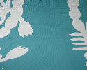 Echo quilting is a technique that is often overlooked as a design element, but it can create dramatic results.