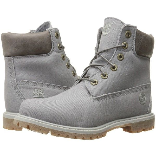 68da339c6356 ... Timberland 6 Premium Boot Womens Lace-up Boots (140) ❤ liked on  Polyvore  RARE ...