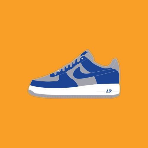 Nike Air Force 1 Sneaker SVG Vector Nike Air Force 1 co.jp