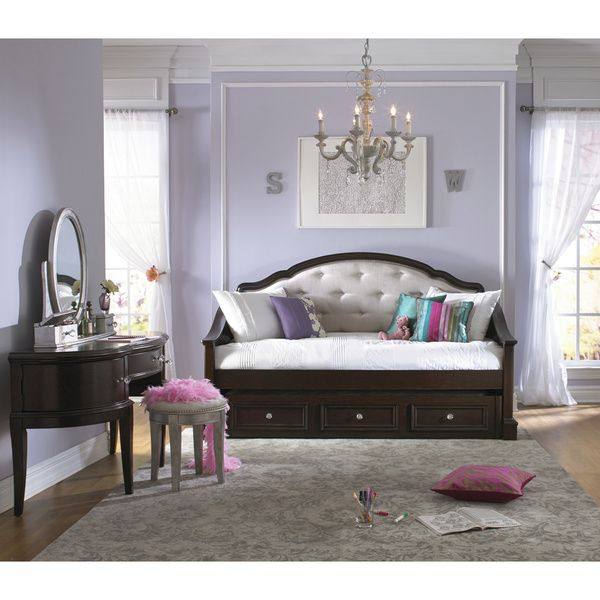Art Van Glamour Upholstered Daybed - $849