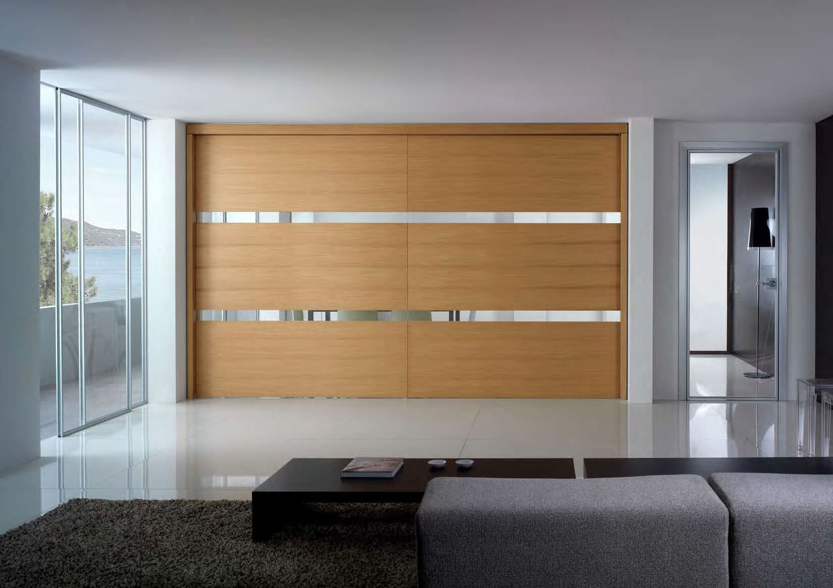 small built in closet with sliding doors | Roselawnlutheran