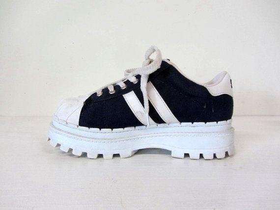 90s Platform Sneakers~Tennis Shoes
