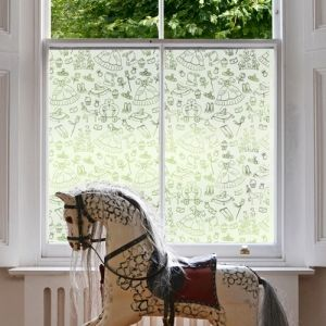 Etched Gl Effect Frosted Window Film Patterns Are Computer Cut Into A Range Of