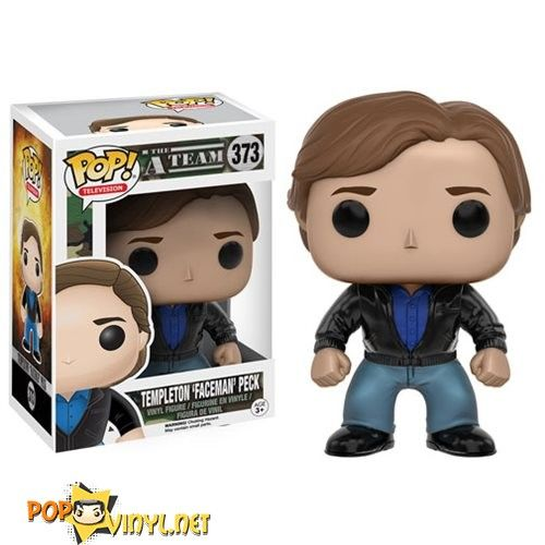 FREE POP PROTECTOR FUNKO POP THE A TEAM JOHN HANNIBAL SMITH VINYL FIGURE