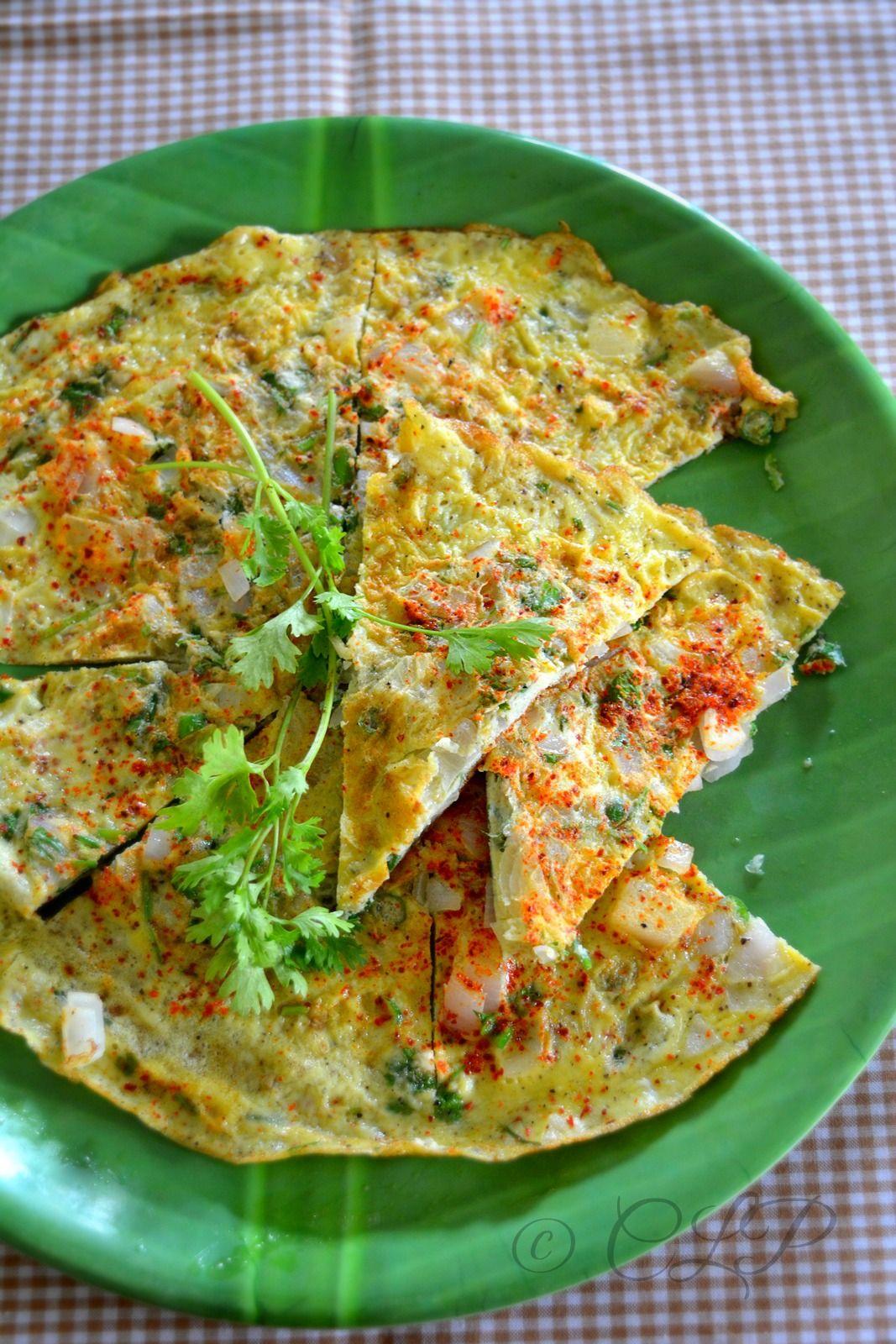 Masala Omelette Indian Style Easy Egg Recipe Breakfast