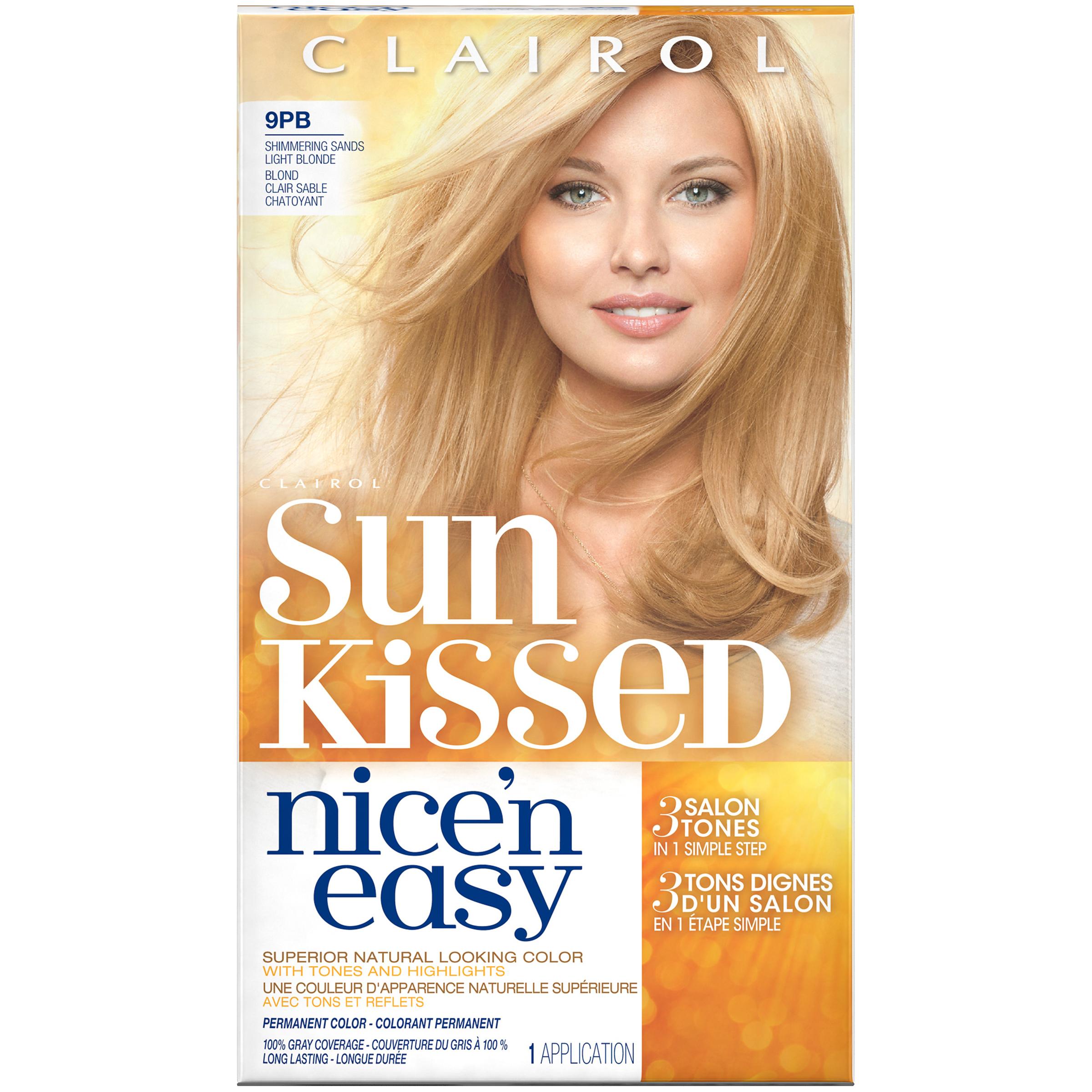 Clairol Nice N Easy Sun Kissed Permanent Hair Color With Images