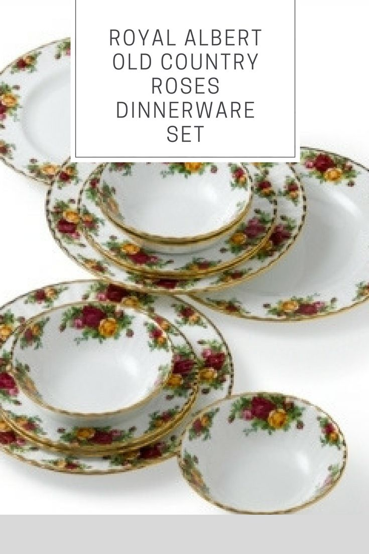 Royal Albert Old Country Roses is the most popular dinnerware and dishes pattern in the world since 1962. It is something thatu0027s suited different lu2026  sc 1 st  Pinterest & Royal Albert Old Country Roses is the most popular dinnerware and ...