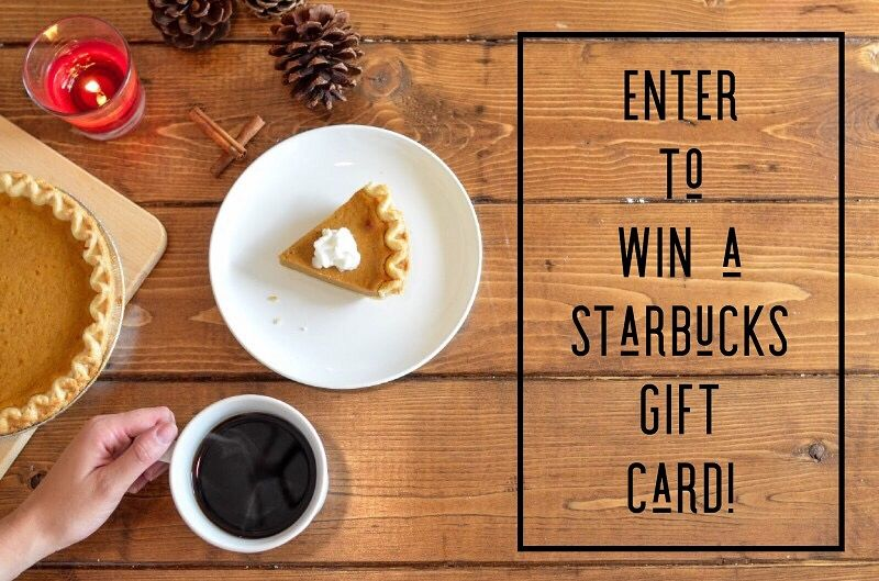 Enter to win the 100 starbucks gift card giveaway ends