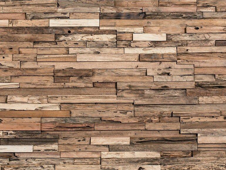 3D Wandverkleidung aus Holz für Innen WHEELS by Wonderwall Studios