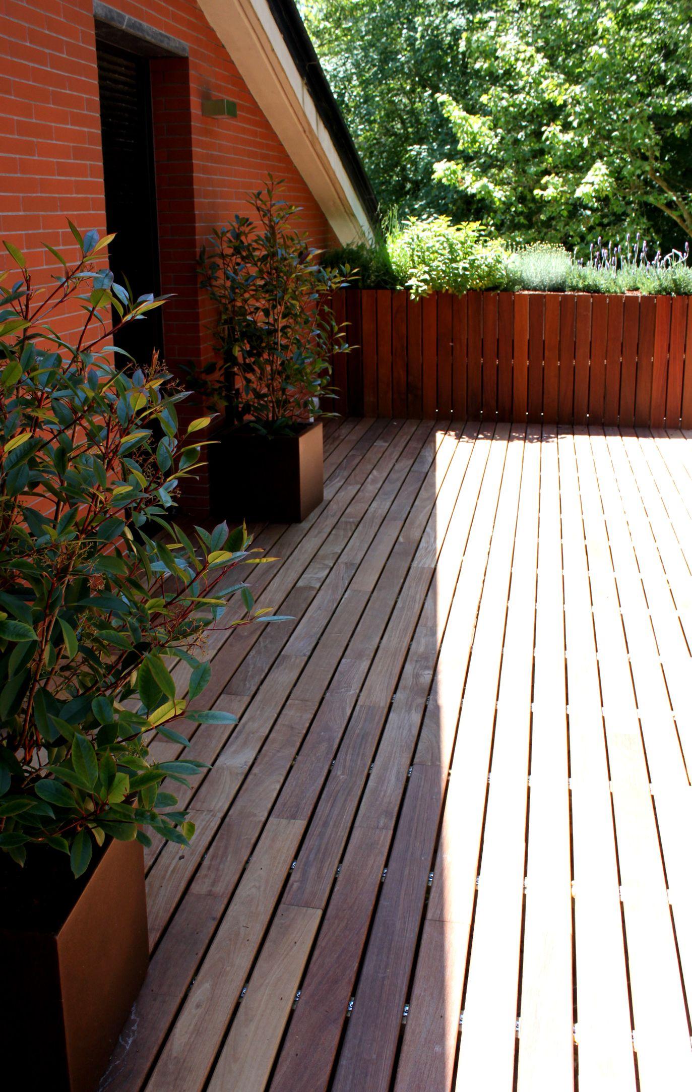 Jardin En Atico Diseño Paisajismo Jardines Terrazas