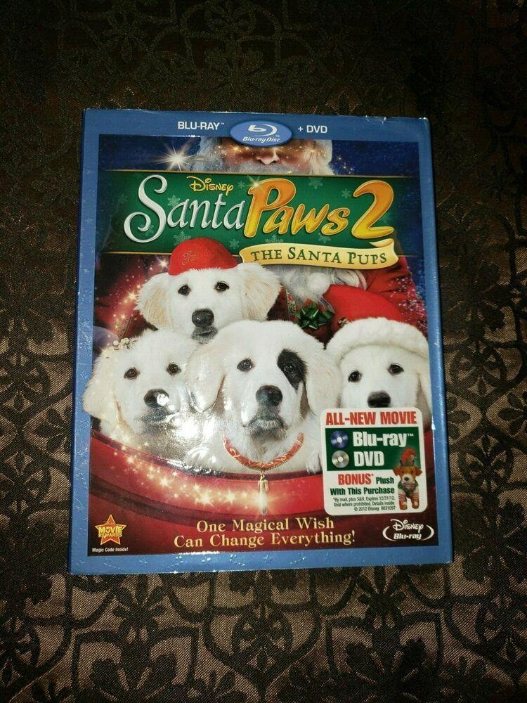 Sealed Santa Paws 2 The Santa Pups Blu Ray Dvd 2012 2 Disc
