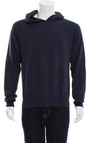 Hooded Rib Knit Sweatshirt  Alexander Wang speckled  827a11a56